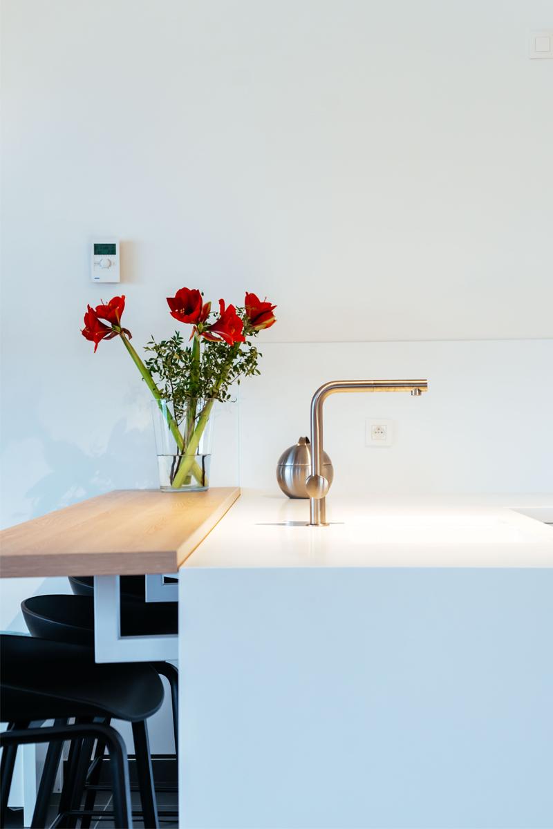 Insight realisatie interieur keukenkraan