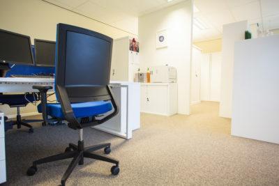 Bofizon kantoor Insight realisatie Viasit impulse bureaustoel