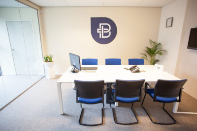 Bofizon vergaderruimte viasit Impulse bezoekersstoel