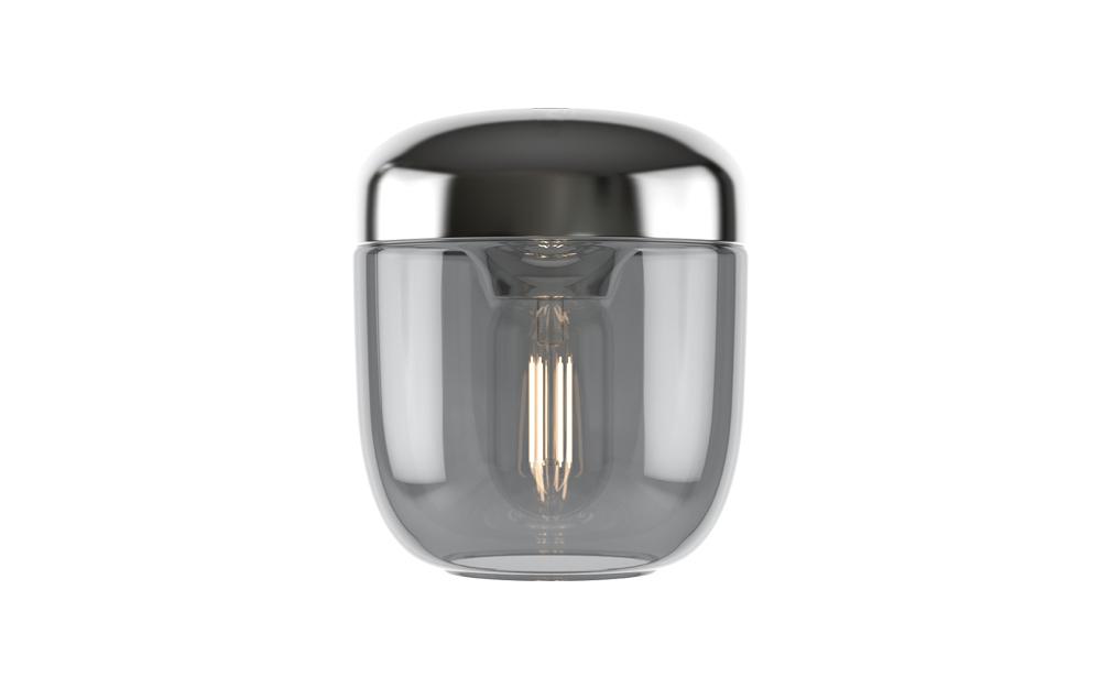 Acorn lamp Umage Zilver packshot