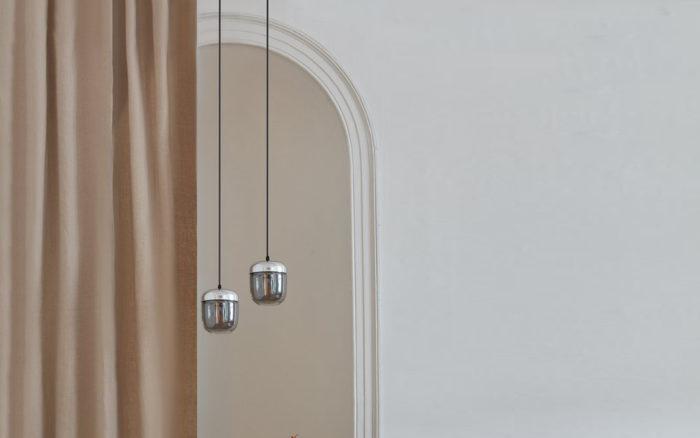 Acorn lamp Umage Zilver