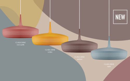 Clava Dine lamp Umage new colours