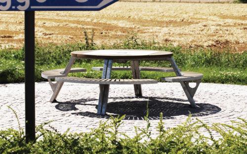 Gargantua picknicktafel Extremis