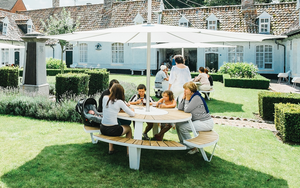 Pantagruel picknicktafel Extremis