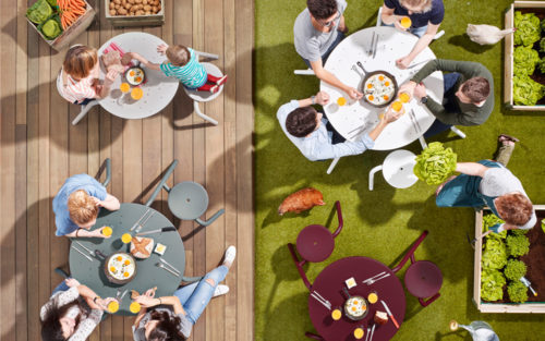 Virus serie Extremis picknicktafel