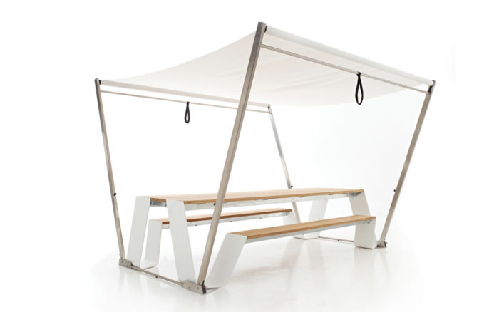 Hopper Shade Picknick tafel Extremis outdoor packshot