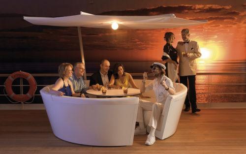Kosmos Extremis outdoor sofa lounge