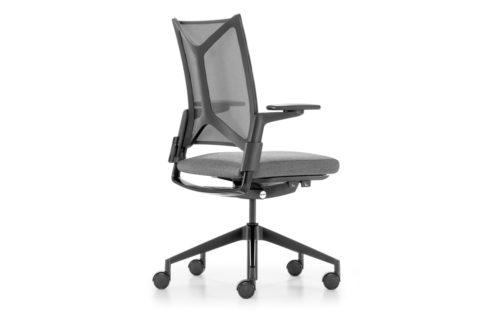 Camiro 1D bureaustoel netweave Girsberger packshot