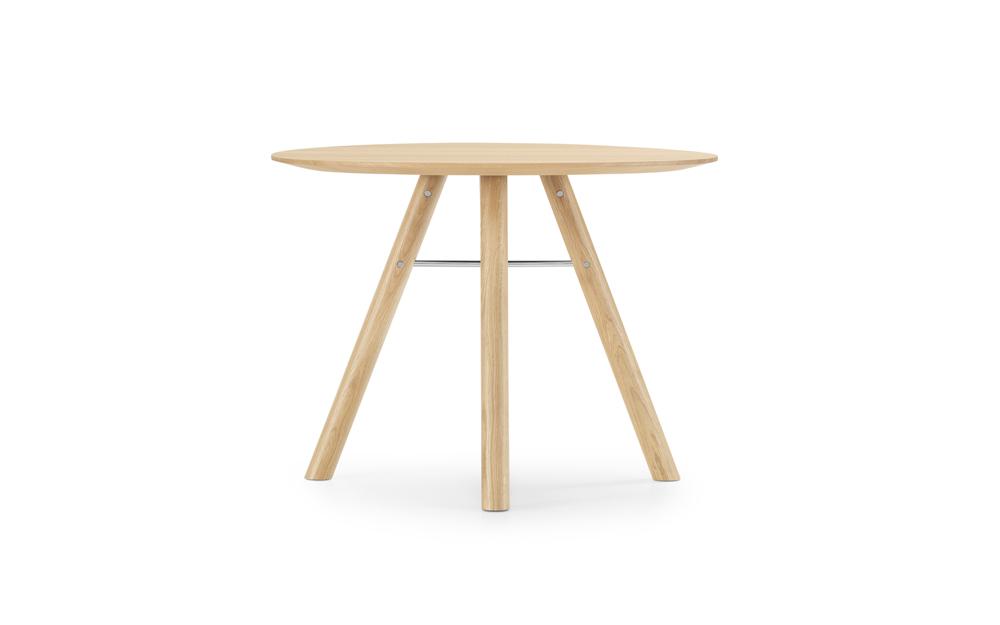 Akio round table Girsberger eiken packshot