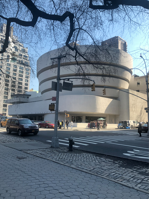 Guggenheim museum New York City blog Insight