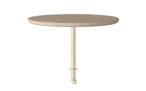 Round table Umage packshot lounge around sofa