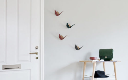 Butterflies wandhaken Umage