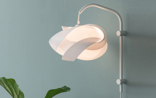 Willow mini wandlamp Umage ribbon