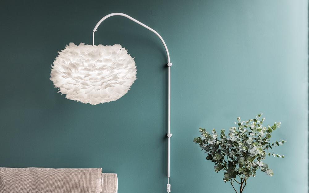 Willow Single wandlamp Umage Eos