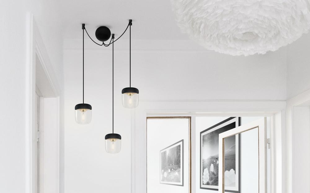 Acorn canonball 3 cluster hanglamp Umage