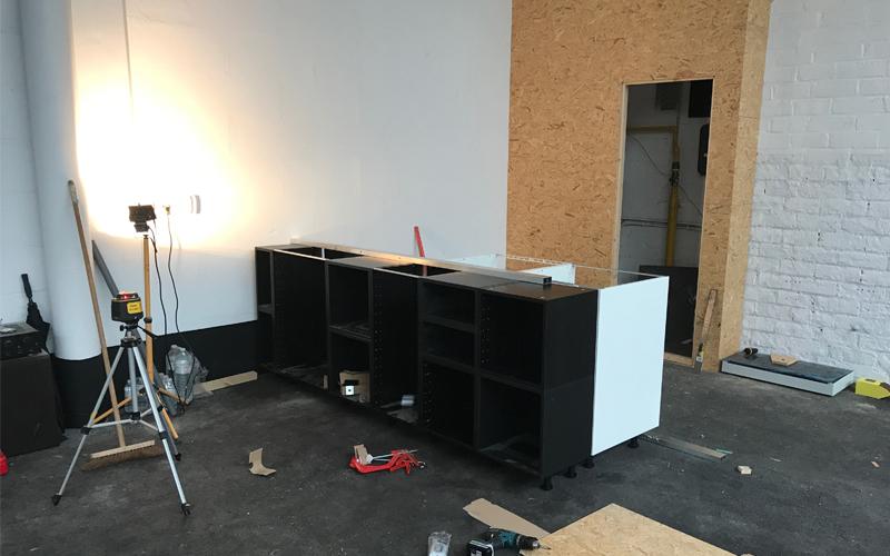 Insight showroom verbouwing keuken Zeilstraat Hasselt