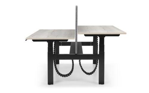 Zit-sta duo werkplek Flex3 bench