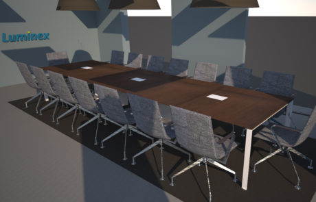 Luminex 3D render meetingzaal