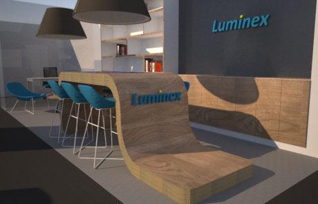 Luminex 3D render open space