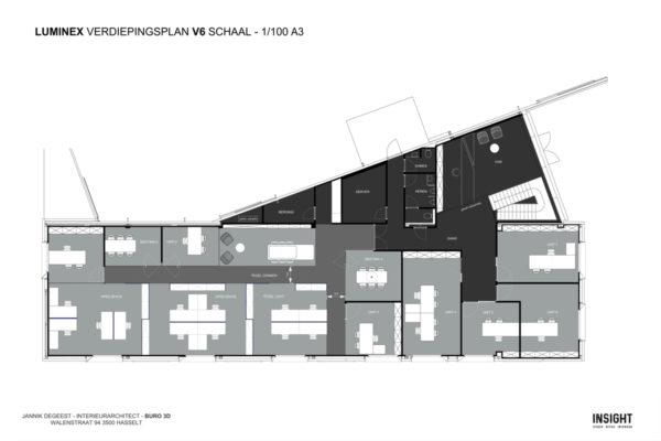 Luminex 2d grondplan