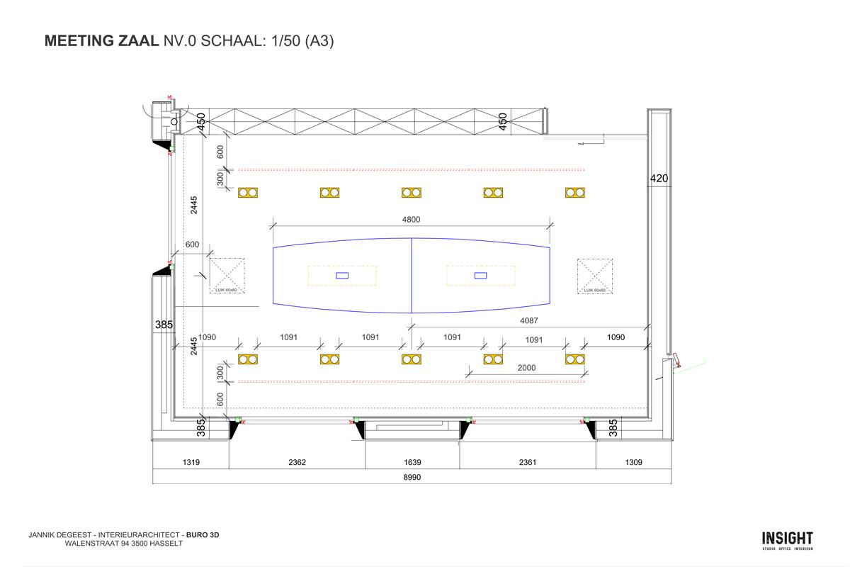 Luminex 2d grondplan detail meetingzaal