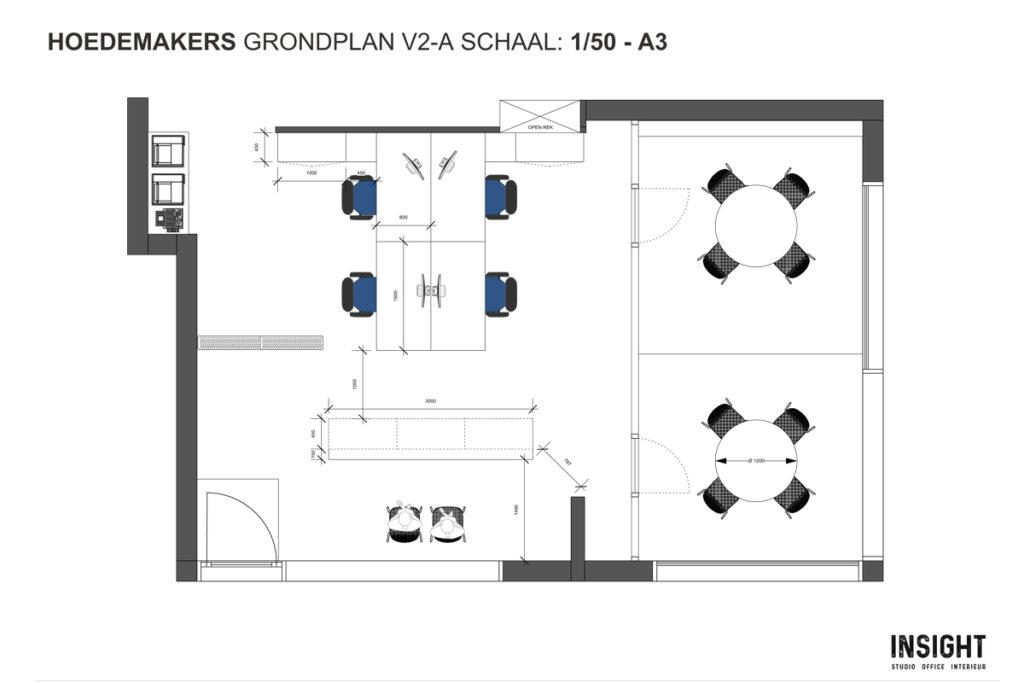 Insight-Studio Hoedemaekers 2d plan