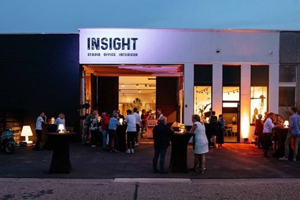 opening showroom Insight hasselt
