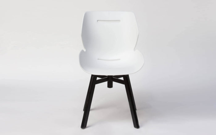 Toon side chair swivel base