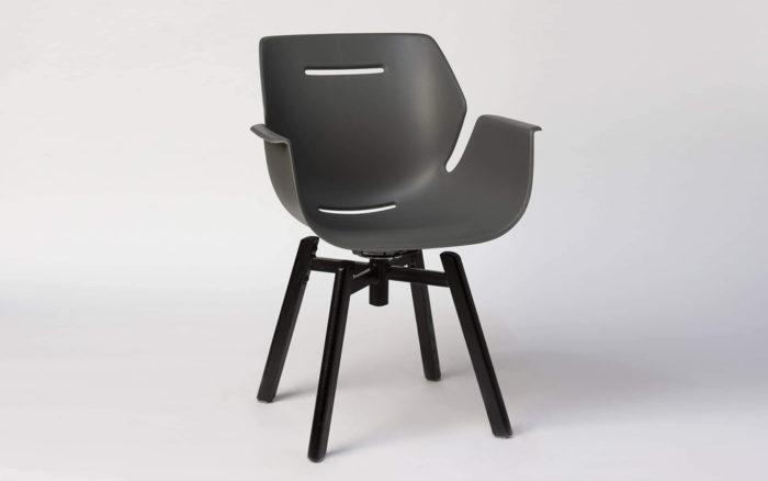 Toon armchair swivel base
