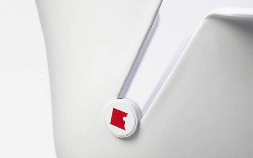 gepersonaliseerd button Toon chair