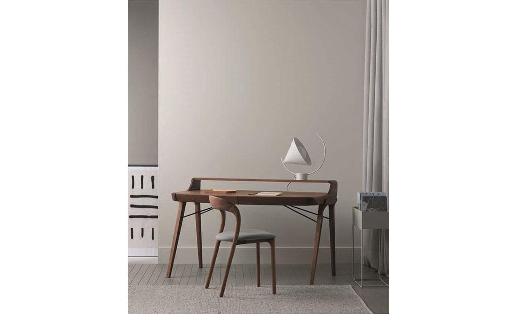 Inspiratie home office Artisan desk bureau thuiswerken