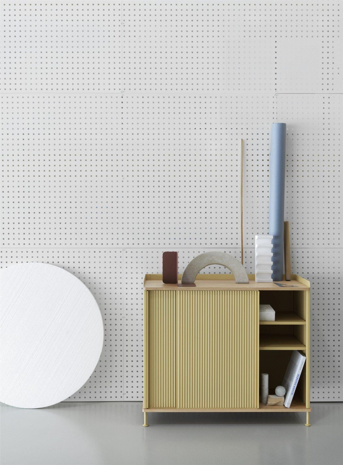 Enfold sideboard low Muuto scandinavisch design by Thomas Bentzen