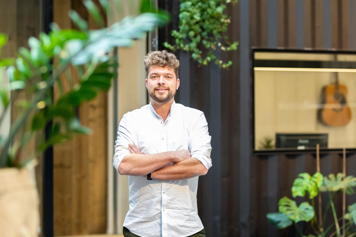 Jannik Degeest - Interieurarchitect, zaakvoerder Insight Projects Hasselt. Projectcoordinator