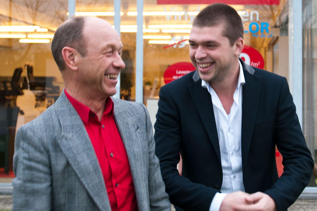 Guido Degeest en Jannik Degeest opstart Insight